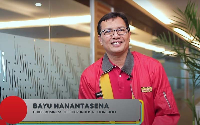 Chief Business Officer Indosat Ooredoo Bayu Hanantasena -  Indosat
