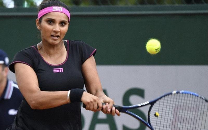 Petenis India Sania Mirza/Antara - Reuters
