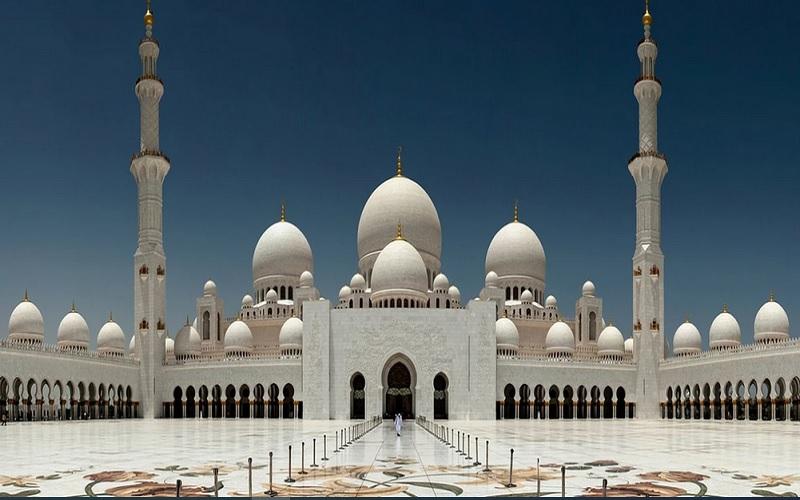 Masjid Agung Sheikh Zayed di Abu Dhabi. - Istimewa