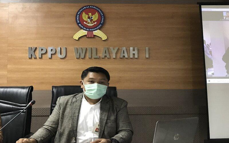 Kepala KPPU Kantor Wilayah I Ramli Simanjuntak, Jumat (5/3 - 2021).