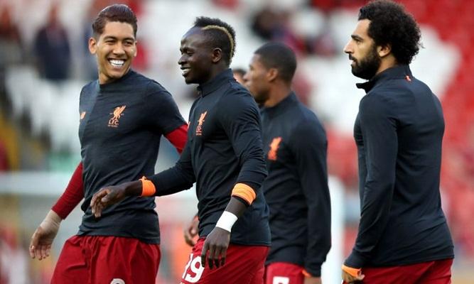 Trio maut Liverpool, Roberto Firmino, Sadio Mane dan Mohamed Salah - Liverpool