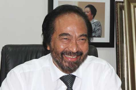 Ketua Umum Partai NasdemSurya Paloh - BISNIS
