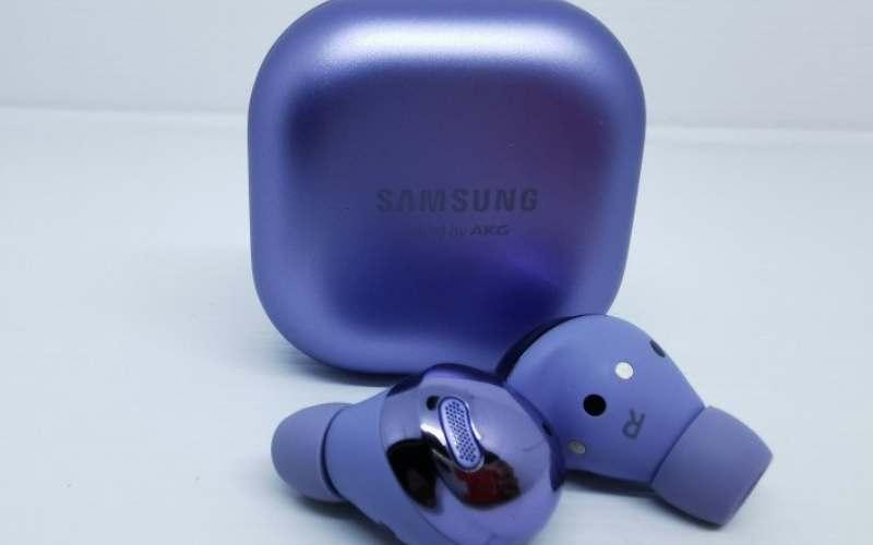 Samsung Galaxy Buds Pro. (ANTARA - Natisha Andarningtyas)