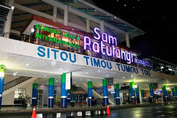Bandara Sam Ratulangi.  - bandarasamratulangi