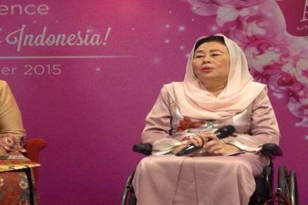 Sinta Nuriyah Wahid, istri Presiden ke-4 RI Abdurrahman Wahid (Gus Dur) - Antara