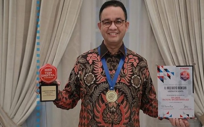 Gubernur DKI Jakarta Anies Baswedan. JIBI - Bisnis/Nancy Junita @aniesbaswedan