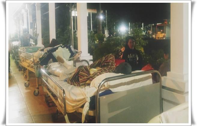 Ilustrasi bed pasien di rumah sakit. - Bisnis