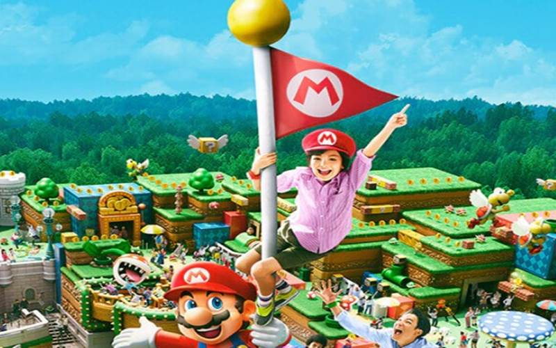 Super Nintendo World - istimewa