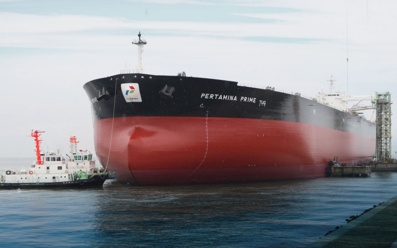 Kapal pengangkut minyak Pertamina Prime. - Istimewa