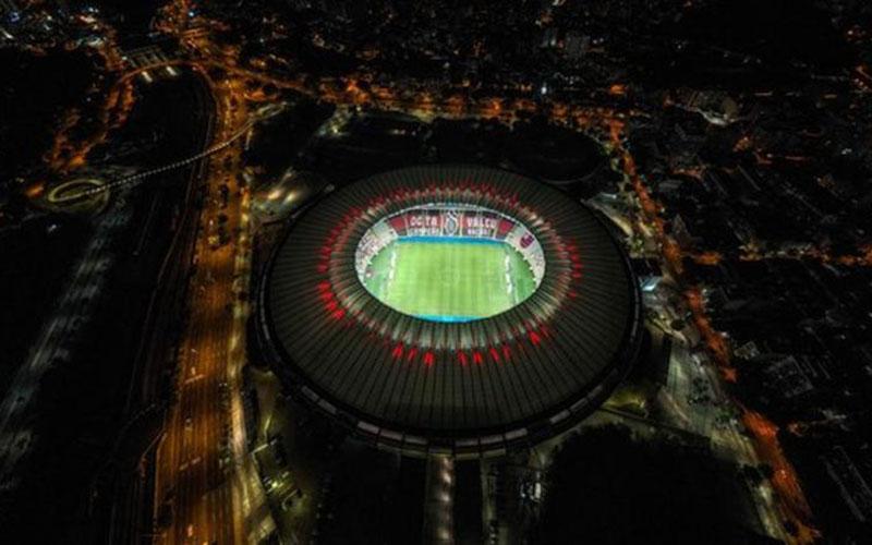 Stadion Edson Arantes do Nascimento - Rei Pele di Rio de Janeiro, Brasil. - BBC