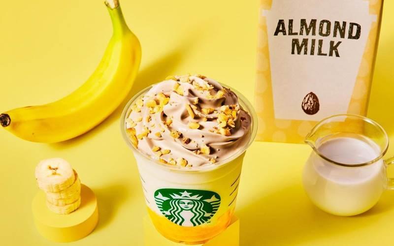 Banana Almond Milk Frappuccino, minuman baru dari Starbucks Jepang - istimewa