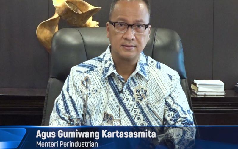 Menteri Perindustrian Agus Gumiwang Kartasasmita.  - Kemenperin