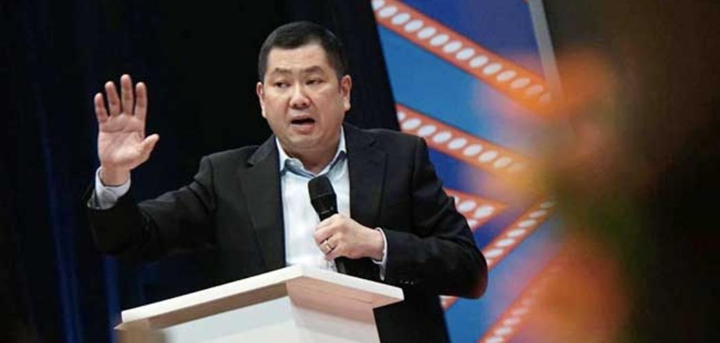 Executive Chairman MNC Group Hary Tanoesoedibjo. - Bisnis/Himawan L Nugraha