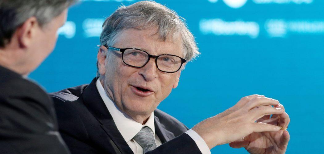 Bill Gates, menjadi pembicara dalam Bloomberg New Economy Forum di Beijing, China, pada 21 November 2019.  - Bloomberg