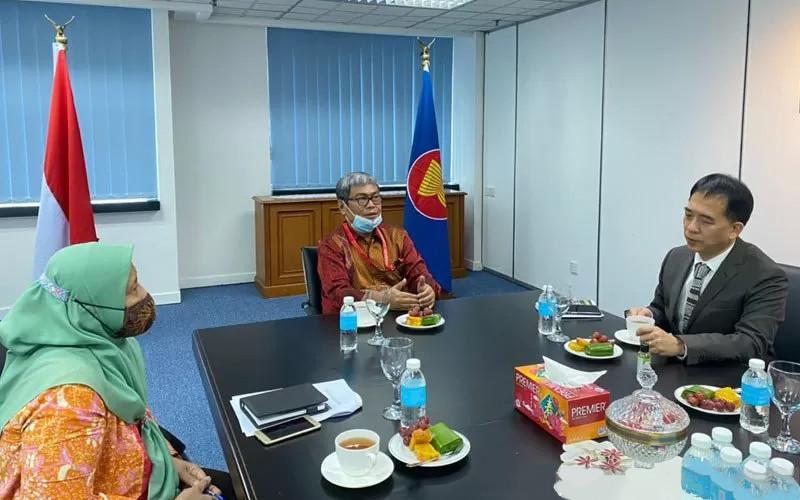 KJRI di Kuching, Malaysia, bersama Kementerian Pelancongan, Kesenian dan Kebudayaan Sarawak, Malaysia.  - Antara