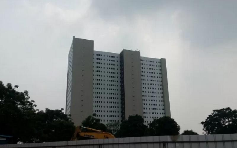 Bangunan hunian DP Rp0 yang berada di Klapa Village, Jakarta. - Antara\r\n