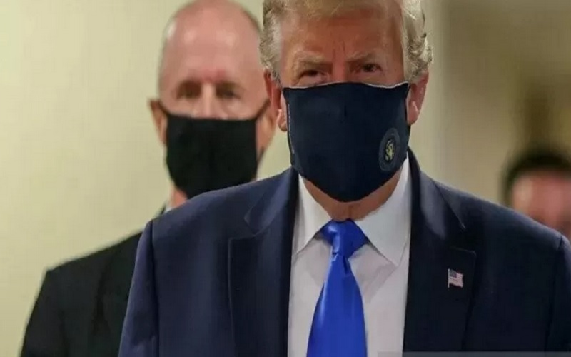 Eks Presiden AS Donald Trump. - Antara/Reuters