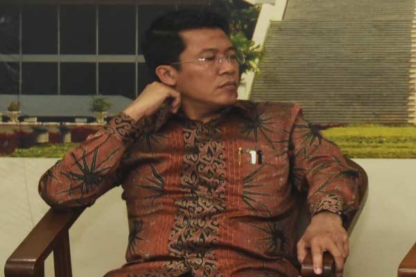 Anggota Komisi XI DPR RI Misbakhun M. Misbakhun.  - Antara