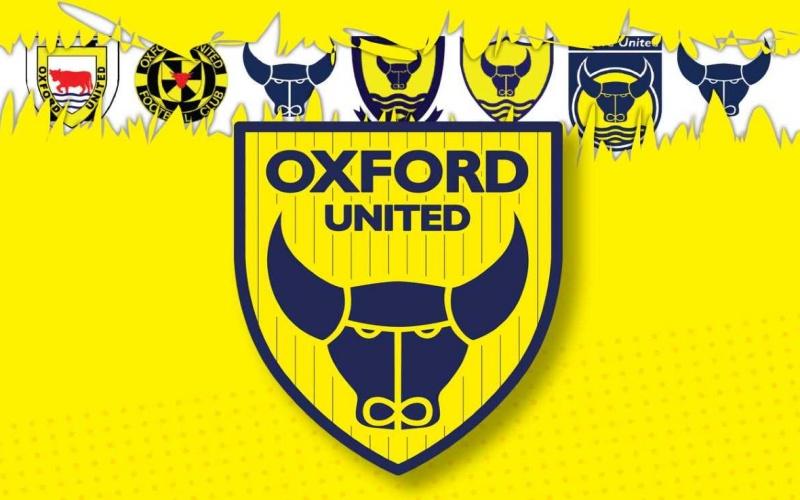 Logo baru klub sepak bola Oxford United. - Istimewa/www.nssmag.com
