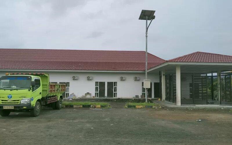 Terminal Bandara Kuabang Kao. - Antara/Abdul Fatah