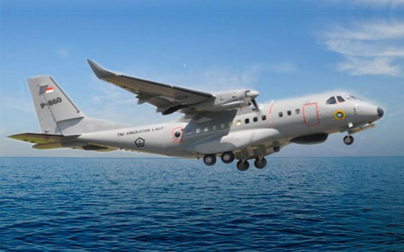 Pesawat CN 235.  - KKIP