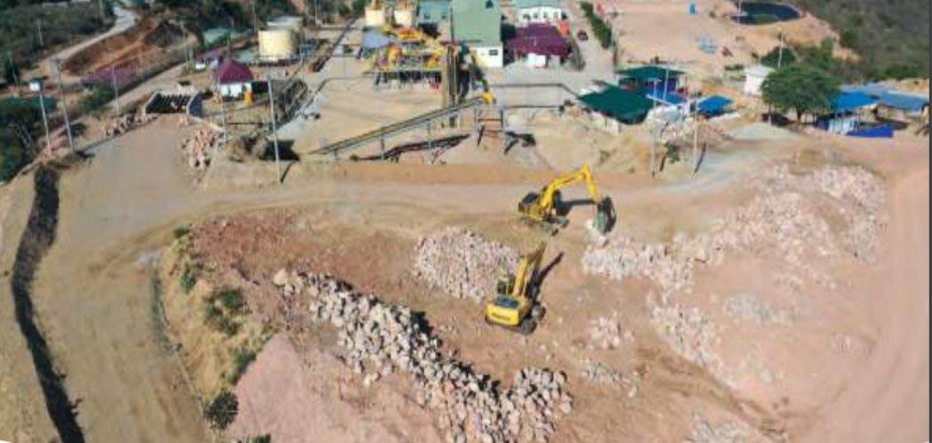 Lokasi tambang PT Bumi Resources Minerals Tbk.  - laporan keuangan