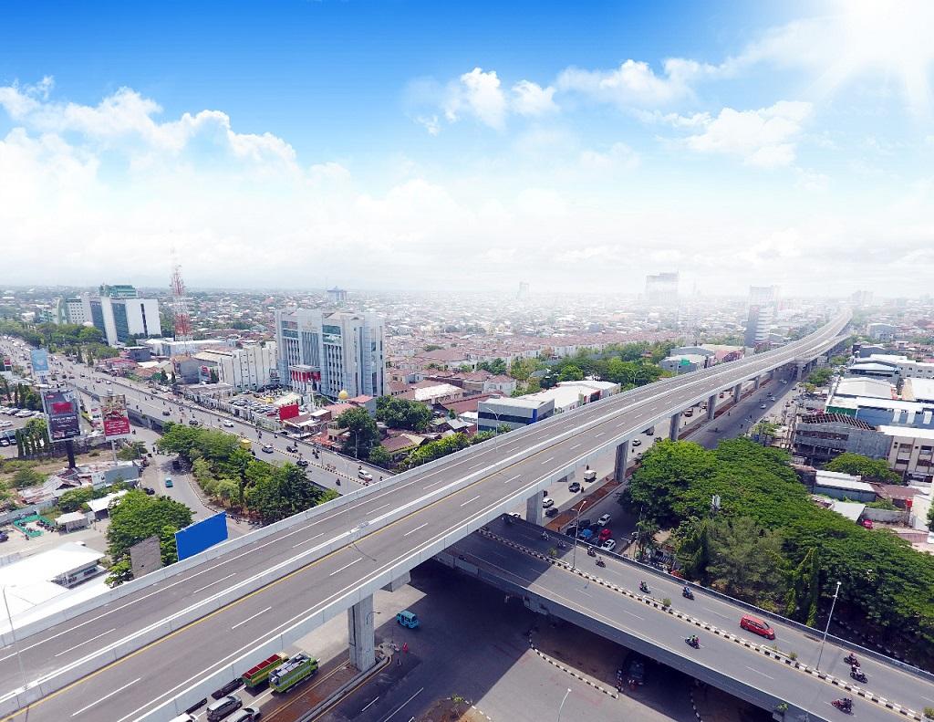 Foto: Jalan Tol Layang A.P. Pettarani