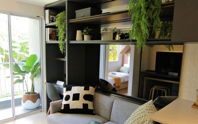 Salah satu sudut ruangan apartemen yang ditawarkan Citra Landmark, Jakarta. - Istimewa