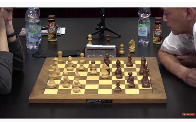 Pertandingan catur Dewa Kipas vs Irene - Youtube