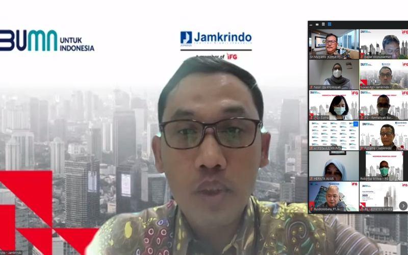 Direktur Bisnis Penjaminan PT Jamkrindo Suwarsito -  Dok. Jamkrindo