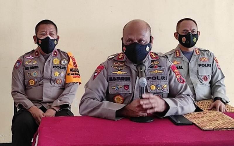 Kapolda Papua  Irjen Pol. Mathius Fakhiri - Antara/Evarukdijati