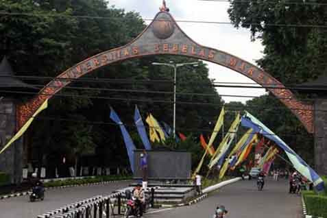 Universitas Sebelas Maret atau UNS Solo 2021. - Istimewa