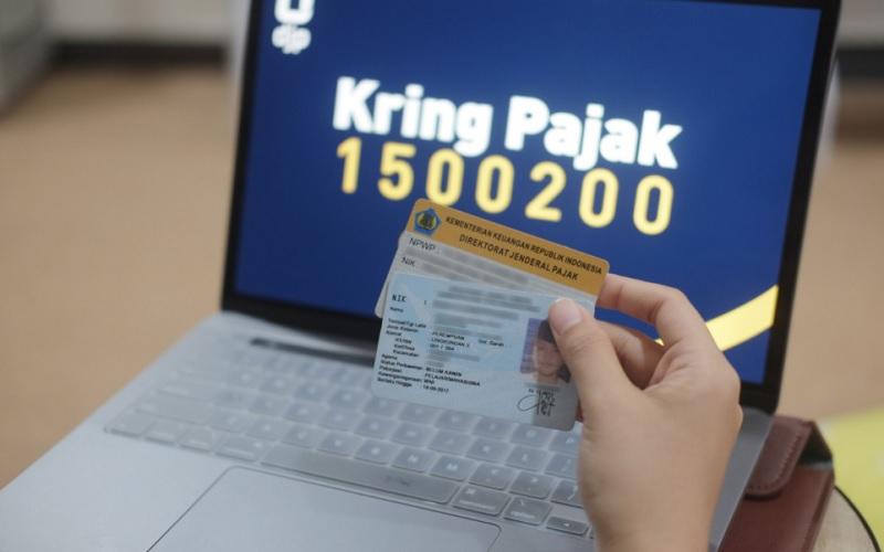 Ilustrasi Lapor SPT Tahunan 2021 melalui situs djponline.pajak.go.id  -  Twitter @DitjenPajakRI
