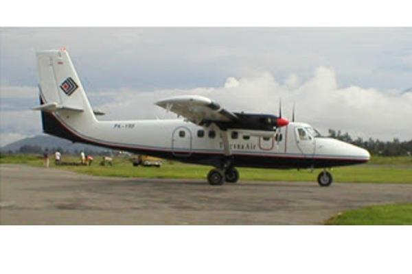 Ilustrasi: TwinOtter DHC-6 Trigana Air - transbuana.com