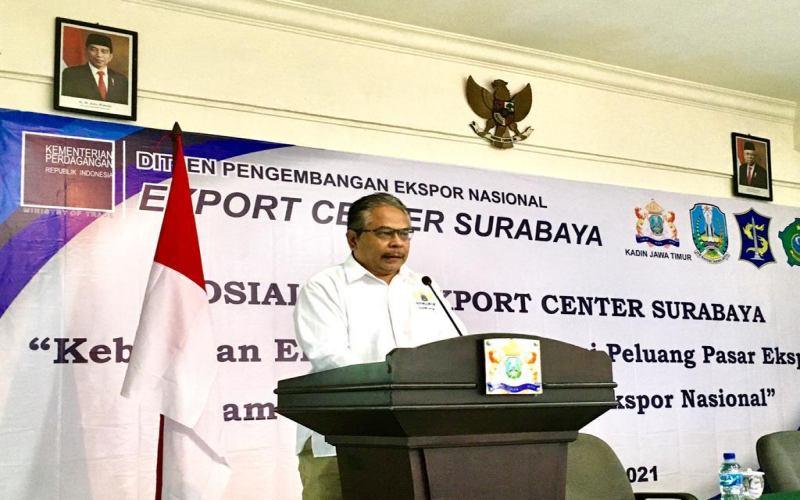 Kepala Pengelola Export Center Surabaya Tommy Kaihatu.