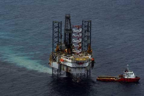 Ilustrasi anjungan minyak -  Istimewa