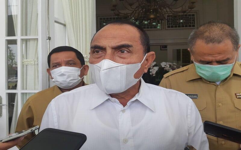 Gubernur Sumatra Utara Edy Rahmayadi