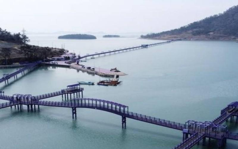 Pulau serba ungu di Korea Selatan