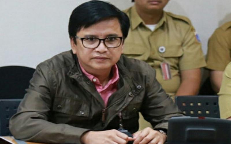 Direktur Utama nonaktif Perusahaan Umum Daerah Pembangunan Sarana Jaya Yoory C Pinontoan. - beritajakarta.id