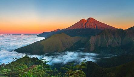 Gunung Rinjani - Sumber Instagram @gunungrinjani_nationalpark
