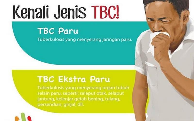 Tuberkulosis atau TBC terdiri dari TBC paru dan TBC ekstra paru. - Bisnis/@tbc.indonesia