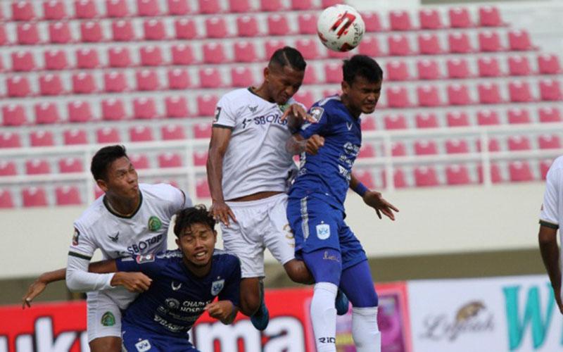 PSIS Semarang menaklukkan Persikabo dalam pertandingan Piala Menpora 2021. - LigaIndonesiaBaru.com