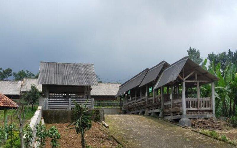 Kawasan UPTD Budidaya Ternak di Kec. Purwosari, Kab. Pasuruan yang akan disulap menjadi Arjuno Agro Technopark. - Istimewa