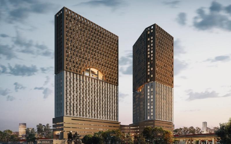 Gambar apartemen Mazhoji yang dikembangkan PT PP Properti Tbk. (PPRO) di Depok. - Istimewa
