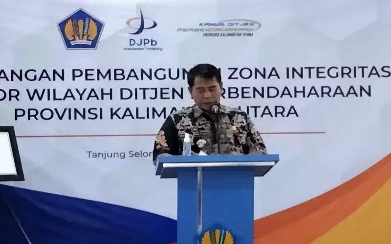 Gubernur Kalimantan Utara (Kaltara), Zainal Arifin Paliwang. - Antara/Susylo Asmalyah