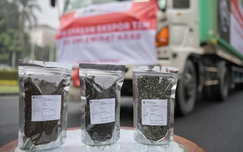 Produk teh yang diekspor ke Uni Emirat Arab