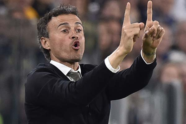 Pelatih Timnas Spanyol Luis Enrique - Reuters/Giorgio Perottino