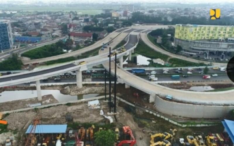 Proyek jalan tol Cengkareng-Kunciran. - Bisnis/BPJT