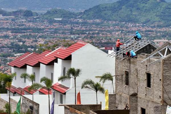 Ilustrasi pembangunan rumah./Bisnis.com - Rachman
