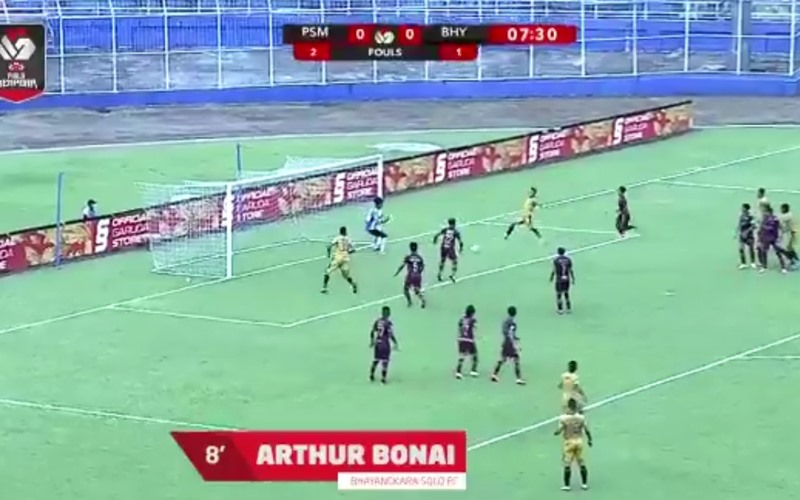 Hasil PSM Vs Bhayangkara FC, Juku Eja Ditahan Imbang Bhayangkara FC - Twitter